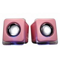Wholesale 2.0 Channel Cube Desktop Computer Speakers Stereo Amplifier With USB Port from china suppliers
