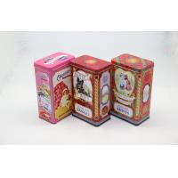 Wholesale Recyclable Rectangle Tea Tin Box Cans For Coffee and Food Packing from china suppliers