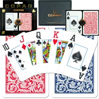 Buy cheap XF Copag 1546|Bridge size|Jumbo Index|blue and red|Double Deck|Made in Brazil|poker cheat|Contact lens|plastic poker from wholesalers