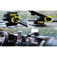 Wholesale Strong Suction Car Dashboard Phone Holder Cell Phone Stand White / Black Color from china suppliers