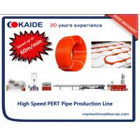 Wholesale 60m/min PERT Heating Pipe Extrusion Line with automatic pipe coiler from china suppliers