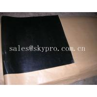 Wholesale Custom Width self-adhesive / PSA backing rubber sheet roll , easy released glue from china suppliers