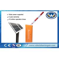 Wholesale DC24V Solar Powered Traffic Boom Barrier Gate For Toll Gate System from china suppliers