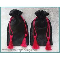 Wholesale organza drawstring gift bag with tassels from china suppliers