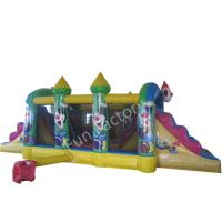 Wholesale 5 Meters High Blow Up Water Slides / Inflatable Pool Slides Non - Rotting Yarn from china suppliers