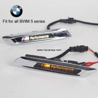 Wholesale BMW 5 Series Car Fender Side Marker steering light turn signals LED logo light DRL from china suppliers