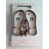 Buy cheap Sandals sole steel rule cutting dies China maker, flatboard Sandals sole steel dies from wholesalers