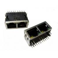 Wholesale RJ45 Female Jack RJ45 1x2 Port PCB Connector Modules With Shield from china suppliers