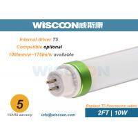 Wholesale 10W 60cm T5 LED Tube Light With LM80 Chips Rubycon Capacitor For Hotel from china suppliers