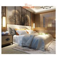 Wholesale Hardwood + Plywood Hotel Queen Size Furniture in Beds , Bedroom Set , Headboard from china suppliers