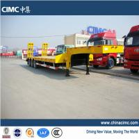 Wholesale tri-axle step deck low bed trailer from china suppliers