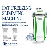 Buy cheap Multifunctional double chin removal weight loss cryo cool sculpting cavitation rf machine from wholesalers