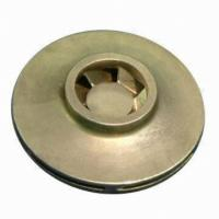 Quality Brass Copper Bronze , Stainless Steel water pump Impeller in Plastic Copper Iron for sale