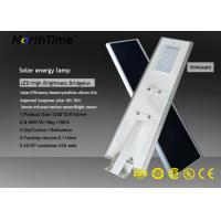 Wholesale WiFi Control High Lumen Solar Lights / Solar Powered Road Lights With Bridgelux LED Chips from china suppliers