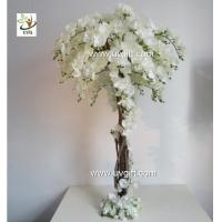 Wholesale UVG CHR124 Wedding Stage Decoration Life size Silk Orchids Artificial Tree Centerpiece from china suppliers