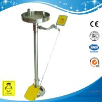 Wholesale SH711BSF-Stand eye wash Erect safety eye wash made of SUS304 meets ANSI from china suppliers