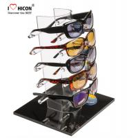 Buy cheap Tabletop Acrylic Eyewear Display Rack For Brand Shop 5 Pairs Sunglasses Promotion from wholesalers