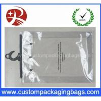 Wholesale Custom Printing Clear EVA / PVC Hook bag / Hanger Packing Plastic Bag For Clothes from china suppliers