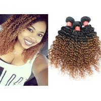 Wholesale Highlighted Deep Curly Wavy Ombre Hair Extensions For Black Women from china suppliers