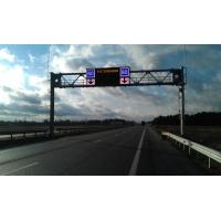 Wholesale Portal Frame Single VMS LED Variable Message Signs P16 Short Circuit Protection from china suppliers