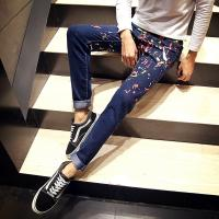 Wholesale Multi Colored Mens Light Wash Skinny Jeans Stretch Straight Anti - Shrink from china suppliers