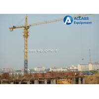 Wholesale QTZ6012 Hammerhead Tower Crane 8 ton 60m Jib Hydraulic Overhead Crane Machine from china suppliers