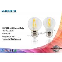 Wholesale G50 4W Led Light Bulb 110V /  220v Led Bulbs  60pcs Home / Public Decoration from china suppliers