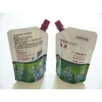 Wholesale OEM Spout Pouch Packaging 100mic - 120mic For Skin Care Essence , Three Side Sealed from china suppliers