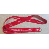 Wholesale Full color print car brand logo promotional key lanyards with rivet, from china suppliers