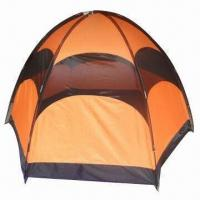 Wholesale Canvas camping/removing/toilet tent with PE floor, measures 240x240x165cm from china suppliers