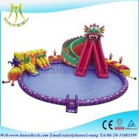 Wholesale Hansel Giant Inflatable Floating Water Park , Inflatable Water Games For Adults from china suppliers