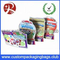 Wholesale Irregular Shaped Custom Packaging Bags , Gift Toys / Snack stand up food pouches from china suppliers