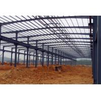 Wholesale Waterproof Structural Steel Plant , Industrial Steel Structure Building With Memory Calculation from china suppliers