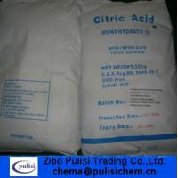 Wholesale Citric acid monohydrate from china suppliers