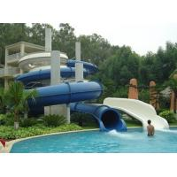 Wholesale Fiberglass Closed spiral water slide , swimming pool water slide from china suppliers