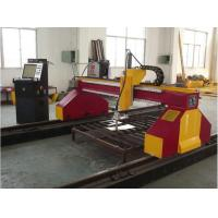 Wholesale High Definition Vertical CNC Laser Metal Cutting Machine , 12000mm Rail from china suppliers