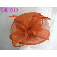 Wholesale Coral Sinamay Ladies Hats Sinamay Bow / Trimming for Normal day from china suppliers