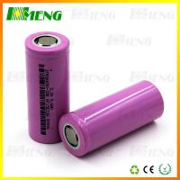 Wholesale Cylinder 18650 Lifepo4 Battery 3.2v 3200mAh High Capacity 26×65 mm from china suppliers