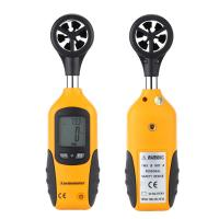 Wholesale Handheld Pocket Size LCD Screen Display Digital Anemometer Wind Speed Measurement Measuring Tool from china suppliers