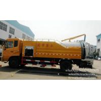 Wholesale Combined High pressure Water cleaning and Jetting Sewage suction Truck 4x2    Euro 4 ,5  Cell: 0086 152 7135 7675 from china suppliers
