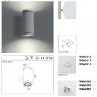 Wholesale Architecture Outdoor LED Wall Lamp 6W Up / Down Exterior LED Wall Lights from china suppliers