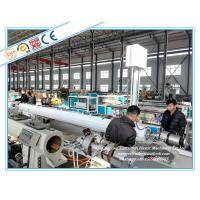 Quality LDPE / PERT Pipe Extrusion Line , Plastic Pipe Manufacturing Machine for sale