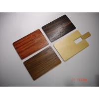 2G, 4G, 8G eco friendly wooden card usb flash drive with screen/laser logo (MY-UCW01)