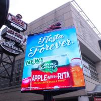 Buy cheap IP65 Waterproof outdoor P10 Led Billboard Display rental / Full Color electronic sign boards from wholesalers