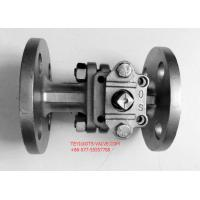 "Quality PN16 Hand Operated Two Way Ball Valve 2"" Locking Flange Type For Water for sale"