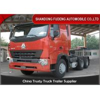 Wholesale HOWO A7 Tractor Head Trucks 6 X 4 Type 10 Wheelers 420 Horse Power from china suppliers