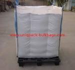 1000kg Baffle Bulk bags Q Bag for Fertilizer Urea , Environment-friendly