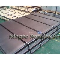 Quality Stainless Steel Sheet Metal Grade 201 410 310S, No.4 With White PVC With ISO BV Certification for sale