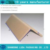 Wholesale Kraft paper corner protector sizes for pallet/product/carton corner protection board from china suppliers