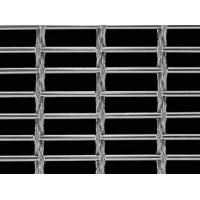 A piece of cable metal mesh with round wire and two rows cable metal mesh.
